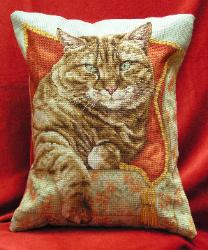 Stitches used: Whole and Three-quarter Cross Stitch, Backstitch and Longstitch.